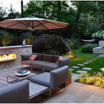Simple Plan Backyard Landscape Ideas