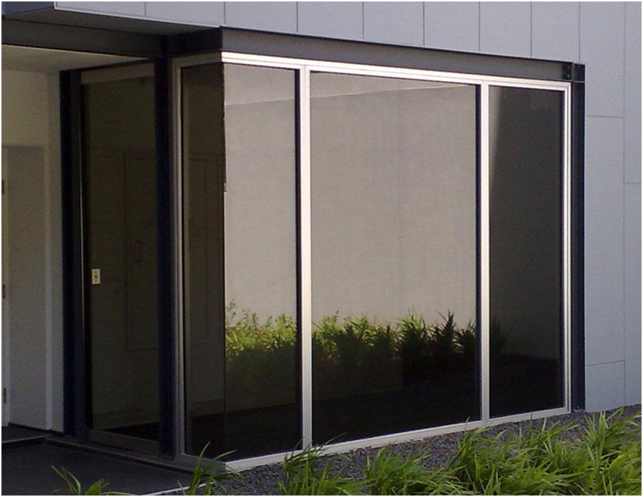 Symphony Suntex Mirror Window Film Application