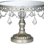 Woderful Silver Wedding Cake Stand Design