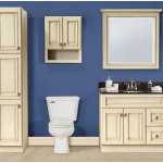 Antique White Bathroom Cabinets and Furniture