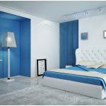 Blue White Bedroom Paint Color Ideas