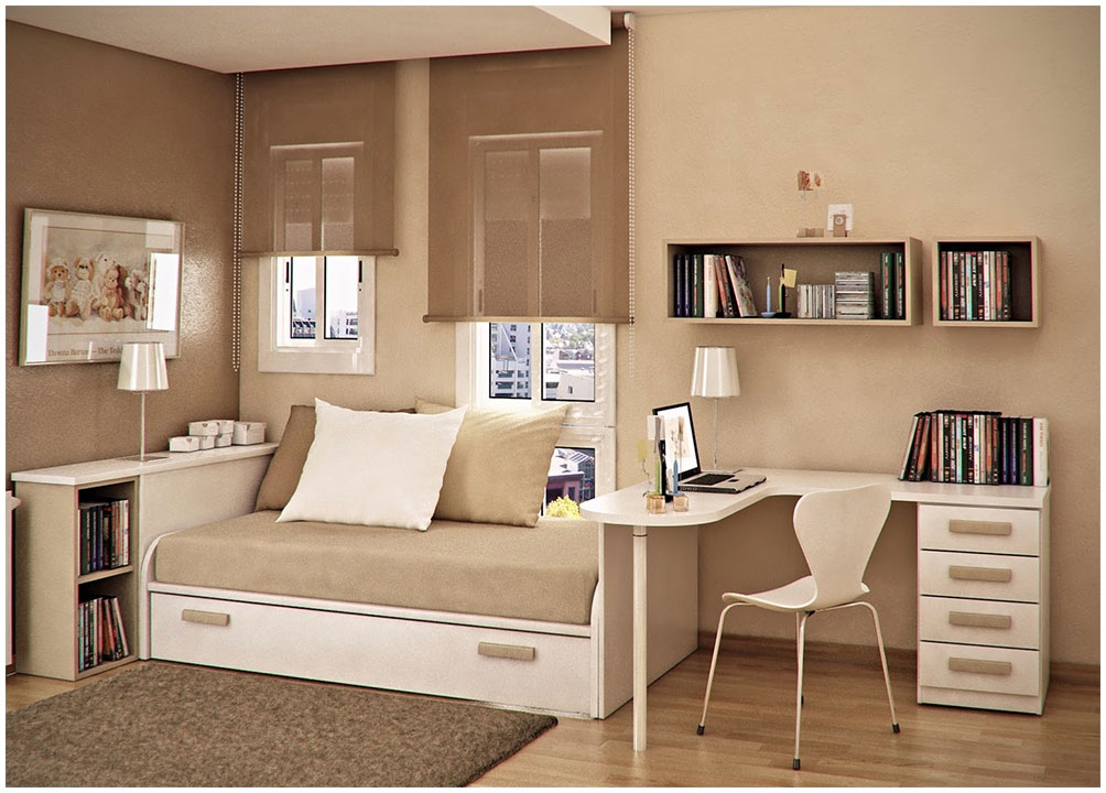 Brown Bedroom Paint Colors for Teen