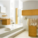 Charming Bathroom Ideas With Modern Wood Furniture