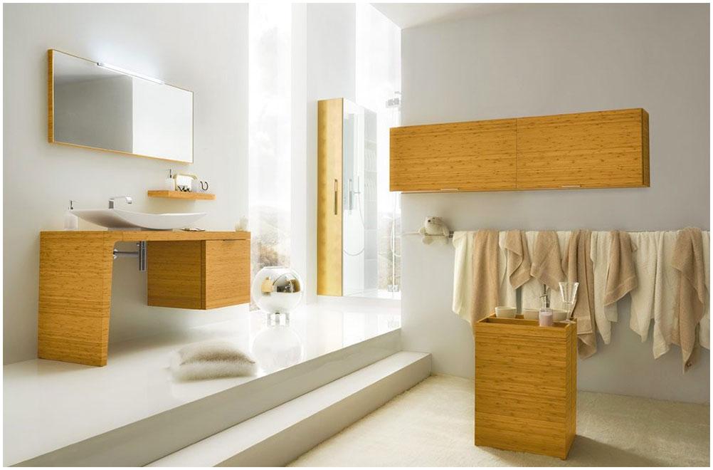 Charming Bathroom Ideas With Modern Wood Furniture