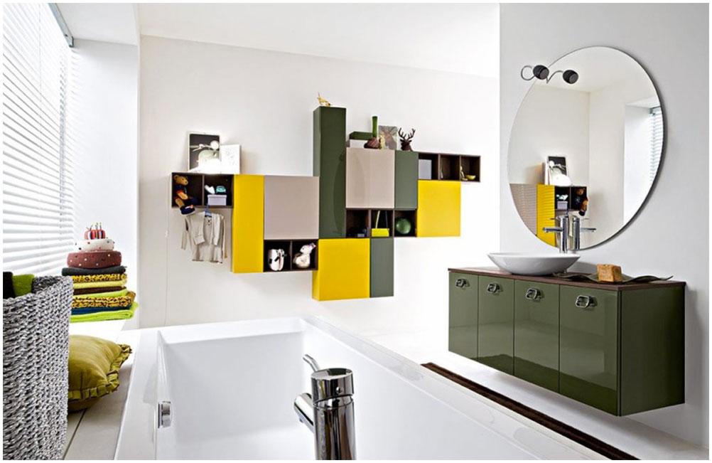 Charming Colorful Bathroom Ideas