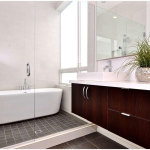 Charming Small Modern Bathroom Decoration
