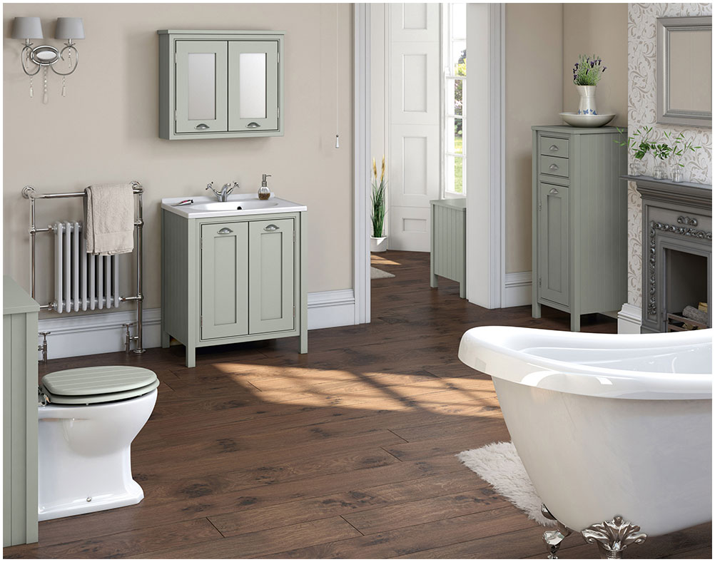 Combining Traditional and Modern Bathroom Furniture