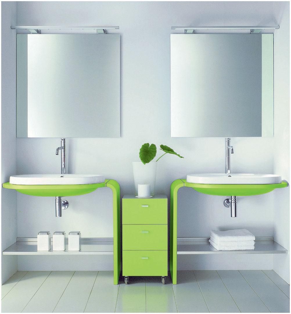 Futuristic Bathroom Vanity Design