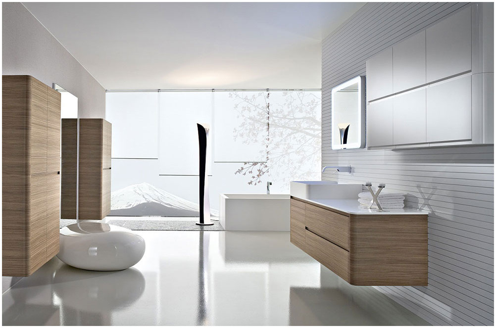 Open Bathroom Design Minimalist Decor Homecaprice