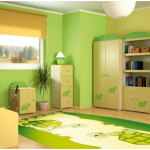 Green Bedroom Paint Colors for Kids