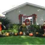 Halloween Day Decoration Ideas for Backyard