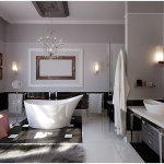 Home Decor Modern Bathroom Furniture Design Idea