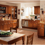 Home Decor Traditional Wooden Kitchen Cabinet Furniture Design
