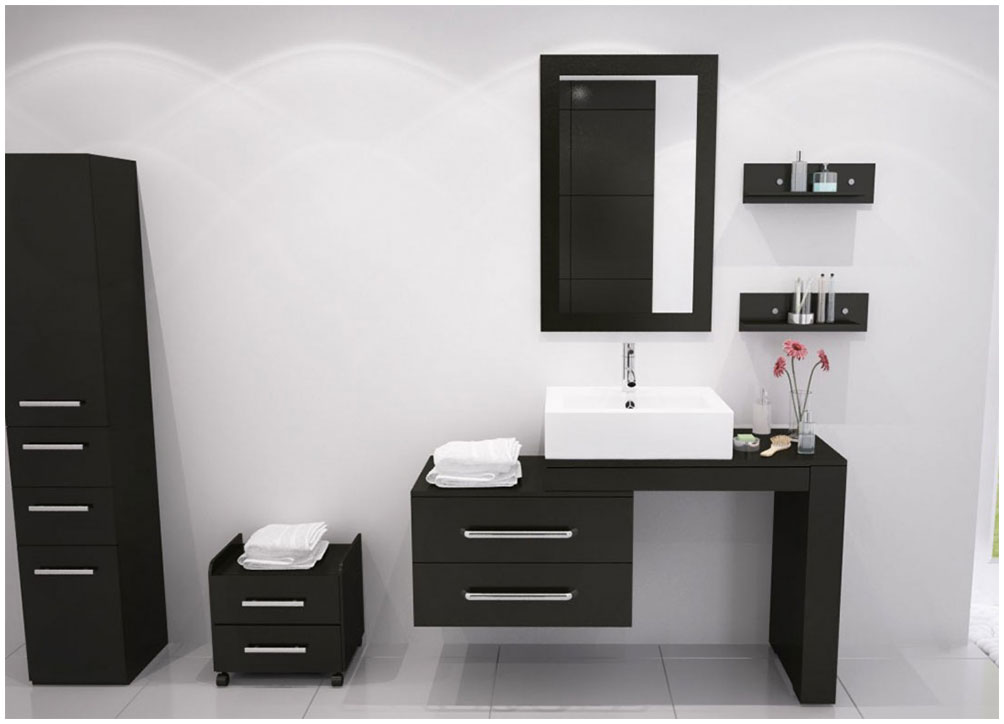 Minimalist bathroom cabinets and vanities interior for Best minimalist furniture