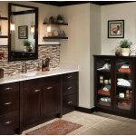 Minimalist Bathroom Shelves Furniture