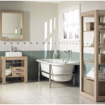 Minimalist Vintage Bathroom Furniture Design Ideas