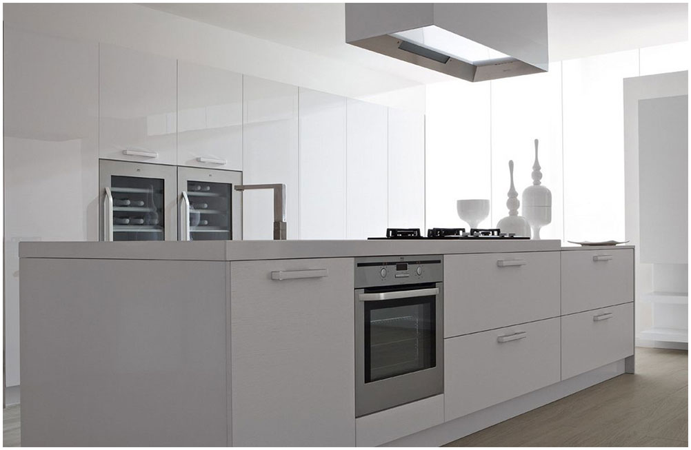 Modern White Kitchen Makeover Ideas