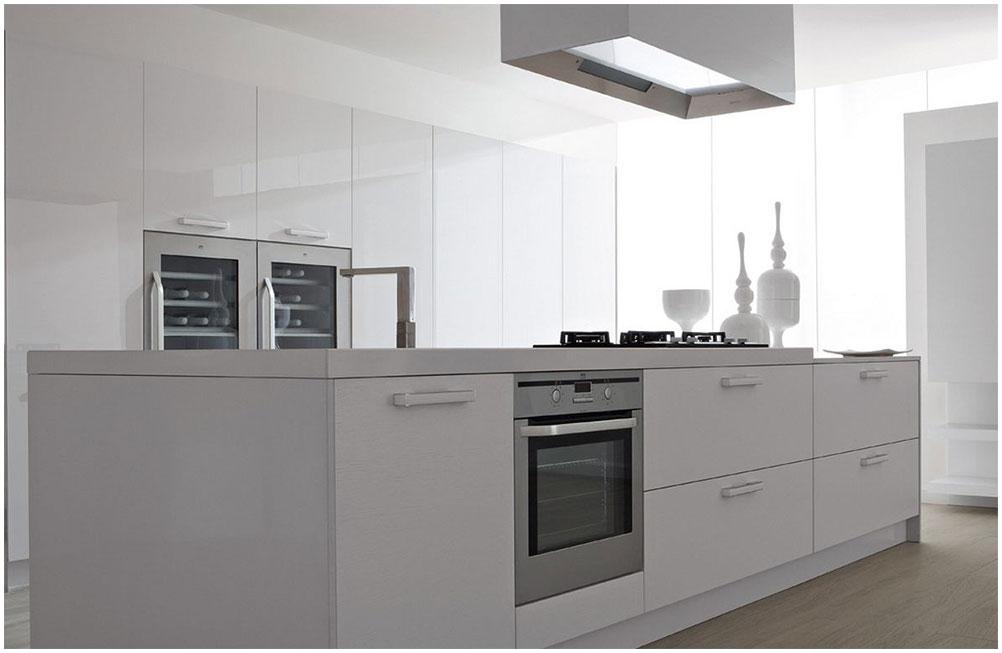 Modern White Kitchen Makeover Ideas