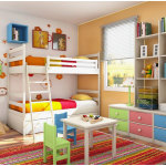 Organizing Bedroom Tidy Ideas for Kids Room