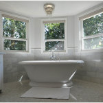Perfect Master Bathroom With Freestanding Bathtub