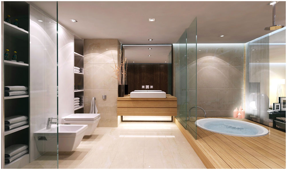 Perfect Modern Master Bathroom Ideas