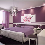 Purple Bedroom Paint Colors for Teen