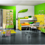 Yellow and Green Bedroom Paint Colors Design