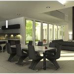 Modern Contemporary Dining Room Furniture Ideas