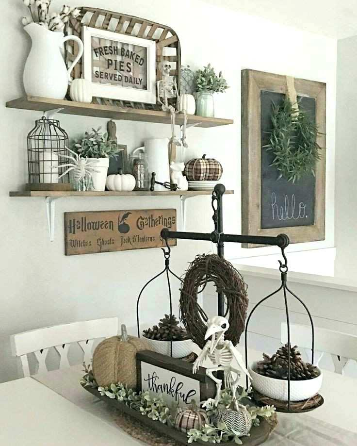 Decorating Ideas For Dining Room Chairs Farmhouse Kitchen Wall Decor