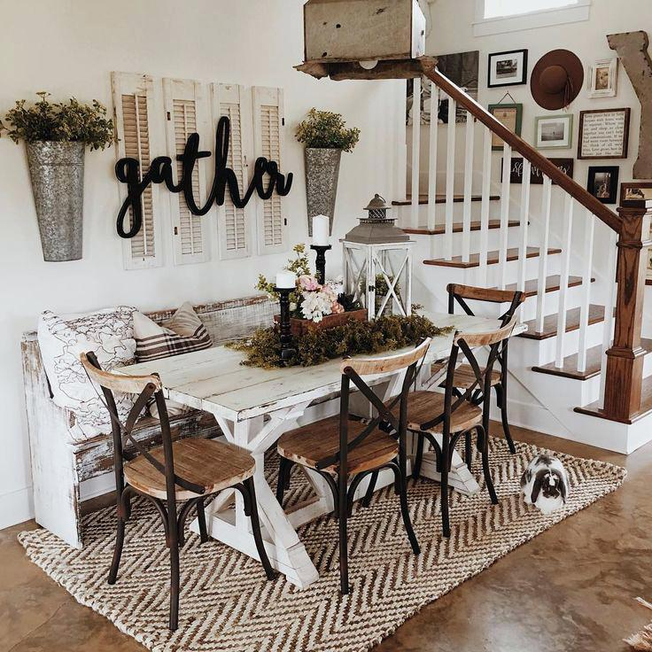 Farmhouse Dining Room Wall Decor Full Size Of Dining Farmhouse