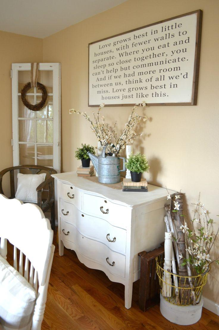 Farmhouse Dining Room Wall Decor Ideas  Images
